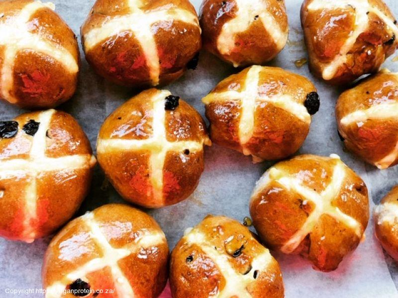 Protein Hot Cross Buns